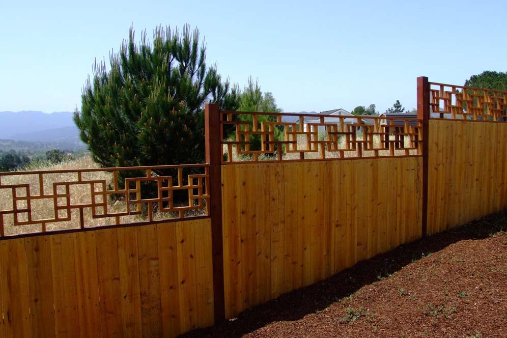 Asian Style Fences 85